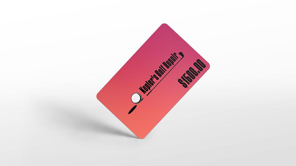 Kepler's Gift Cards: $1500