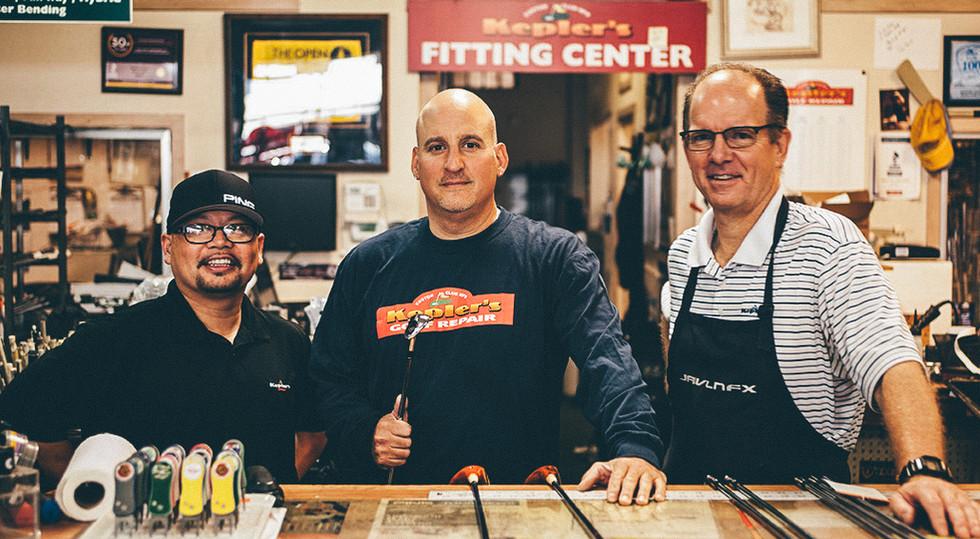 The Team at Keplers Golf Repair