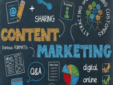 Marketing Needs To Be Focused On Content