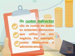 4. Os custos indirectos