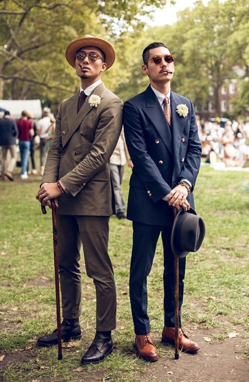 Hats and suits