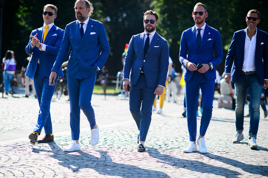 Suit & Sneakers