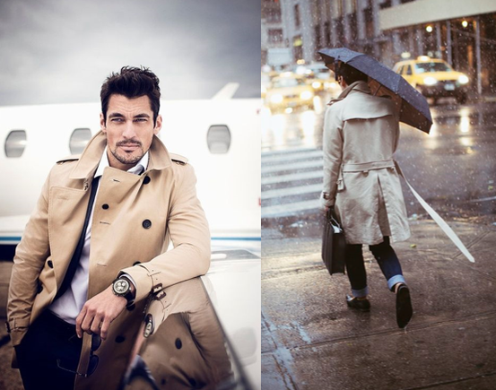 The Trench, manly coat by excellence!