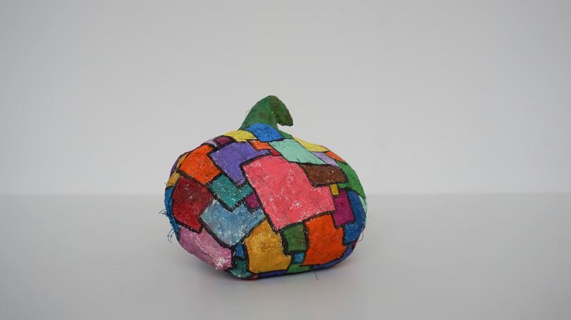 Rainbow Pumpkin by Niamh English