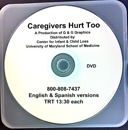 Caregivers Hurt Too DVD