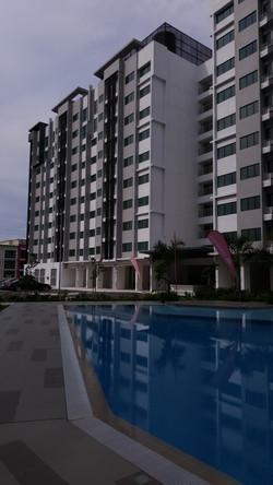 Rafflesia & Ixora - Pool View