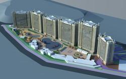 Splash Park Hotel - Aerial Perspecti