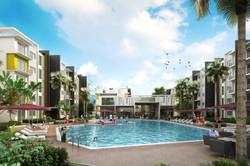 Sipitang Apartment - Pool View