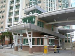 Entrance Gateway View