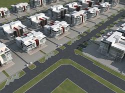 7th Avenue - Aerial 3D View