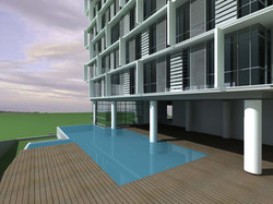 Bangsar Condo - Pool view