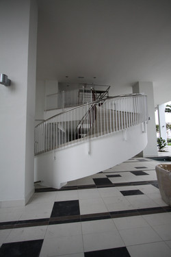 First Residence - Spiral Staircase