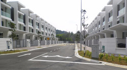 Desa Park Serdang - Type A Row View