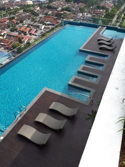 Infinity Tower - Pool View 2