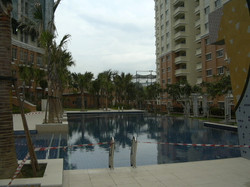 Perdana Emerald - From Pool View