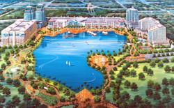 Danau Kota - Aerial View