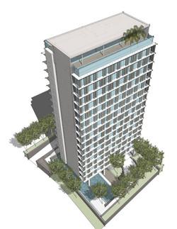 Bangsar Condo - Aerial Perspective