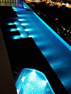 Infinity Tower - Pool Nite view 4