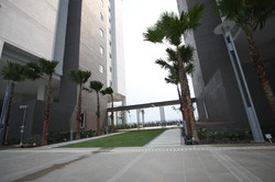 First Residence - Covered Walkway