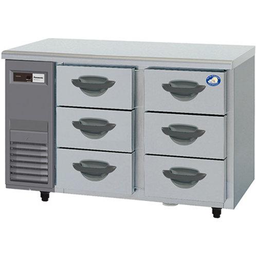 3段ドロワー冷蔵庫 SUR-DK1261-3