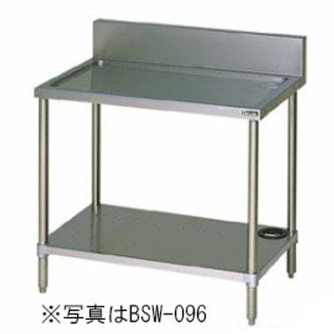 水切台 BSW-067 バックガード有り 外形寸法:幅600×奥行750×高さ800