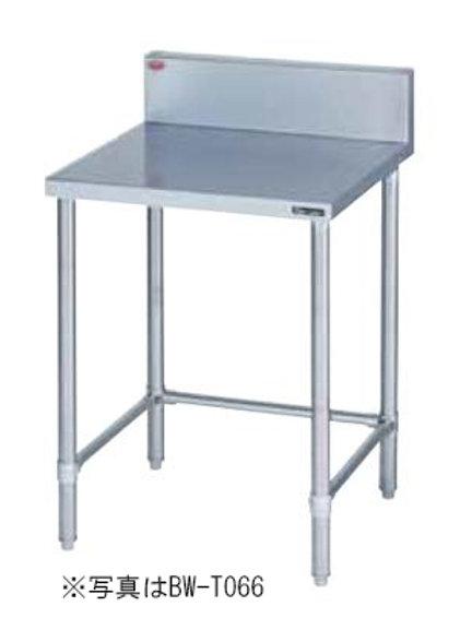 調理台三方枠 BW-T097 バックガード有り 外形寸法:幅900×奥行750×高さ800