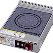 IHクリーンコンロ 卓上型 単機能3kwシリーズ 標準プレート MIH-03SC