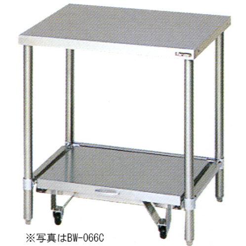 炊飯器台・キャスター台付き BW-066CN バックガード無し 外形寸法:幅600×奥行600×高さ800