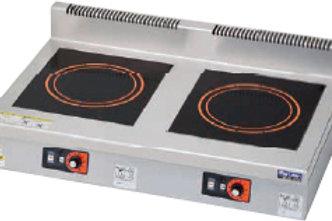 IHクリーンコンロ 卓上型 単機能シリーズ 耐衝撃プレート MIH-K55D