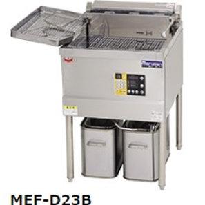 デリカ向け電気フライヤー オートリフト無し 操作部正面パネル MEF-D27B