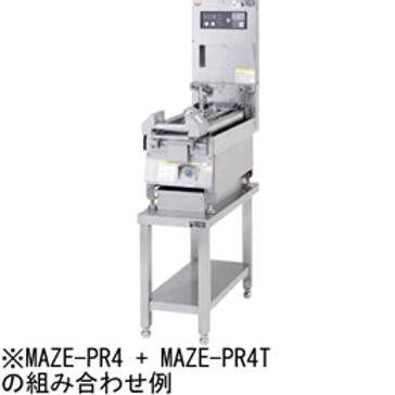 圧力式電気自動餃子焼器 専用架台 MAZE-PR6T