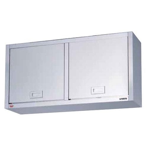吊戸棚 けんどん式 BCS6-1835K ステンレス戸 外形寸法:幅1800×奥行350×高さ600