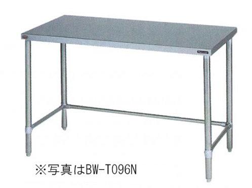 調理台三方枠 BW-T097N バックガード無し 外形寸法:幅900×奥行750×高さ800