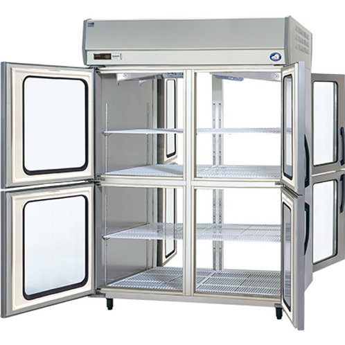 タテ型 パススルー冷蔵庫 SRR-KP1581D