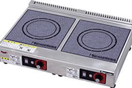 IHクリーンコンロ 卓上型 単機能2.5kwシリーズ 標準プレート MIH-2H2HC
