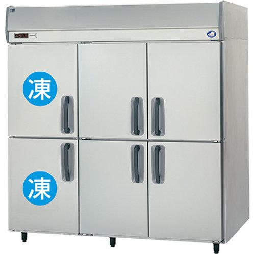 タテ型 冷凍冷蔵庫 SRR-K1861C2B 冷凍2室