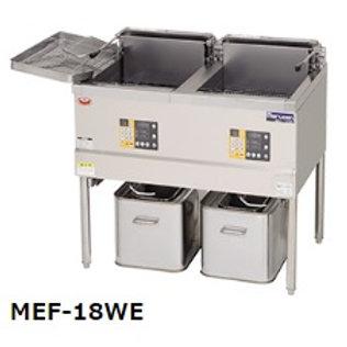 電気フライヤー レギュラータイプ MEF-18WE