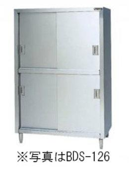 食器棚 BDS-096 ステンレス戸 外形寸法:幅900×奥行600×高さ1800