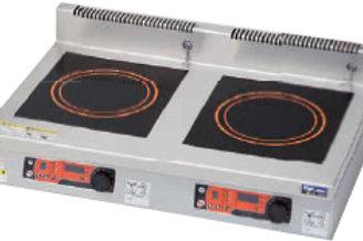IHクリーンコンロ インジケーター搭載機種 卓上型 高機能シリーズ 耐衝撃プレート MIHX-SK55C