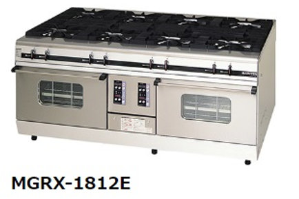 パワークックガスレンジ MGRX-1812E