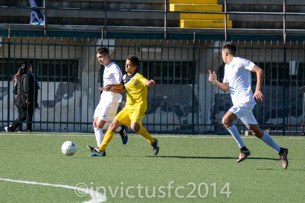 INVICTUS FC - MISTERBIANCO 1-2