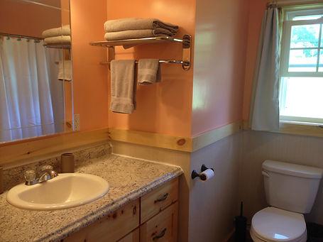 Hall Bathroom - vanity