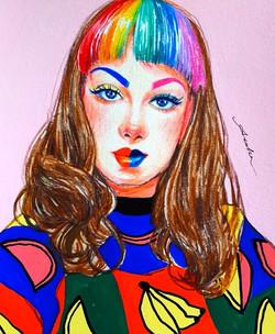 Sketch the rainbow