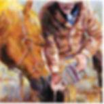 Drink Buddy.jpgDrink Buddy? cowboy watering horse