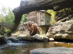The grist mill at Babcock State Park