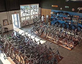 Bike Showroom Dennis Cycle Center Cape Cod Rail Trail