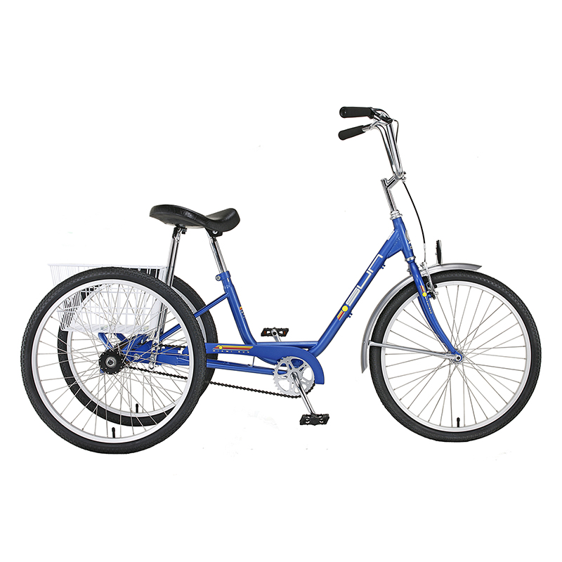 "3-Speed Adult Tricycle 24"" Wheels"