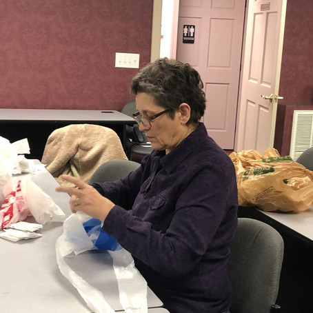 Bags To Mats Program: Turns Trash to Treasure for Homeless Veterans
