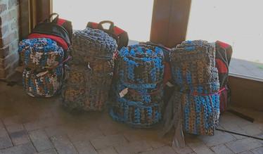 HVSD Backpacks w/Sleeping Pads