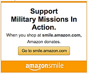 Support Military Missions In Action via AmazonSmile